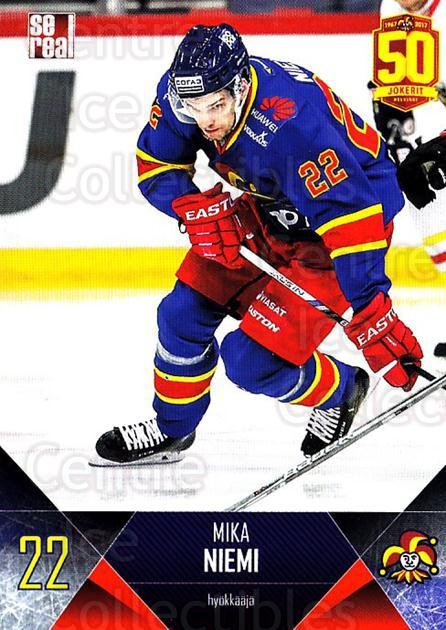 2017-18 Finnish Jokerit Helsinki Sereal #B20 Mika Niemi<br/>4 In Stock - $2.00 each - <a href=https://centericecollectibles.foxycart.com/cart?name=2017-18%20Finnish%20Jokerit%20Helsinki%20Sereal%20%23B20%20Mika%20Niemi...&quantity_max=4&price=$2.00&code=713679 class=foxycart> Buy it now! </a>