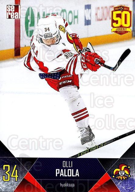 2017-18 Finnish Jokerit Helsinki Sereal #B22 Olli Palola<br/>5 In Stock - $2.00 each - <a href=https://centericecollectibles.foxycart.com/cart?name=2017-18%20Finnish%20Jokerit%20Helsinki%20Sereal%20%23B22%20Olli%20Palola...&quantity_max=5&price=$2.00&code=713681 class=foxycart> Buy it now! </a>