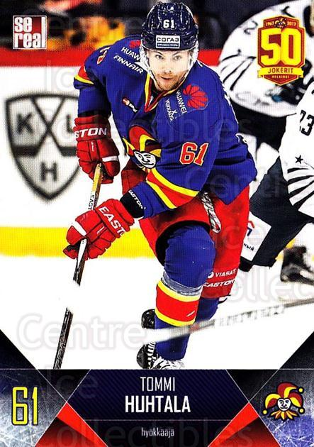 2017-18 Finnish Jokerit Helsinki Sereal #B26 Tommi Huhtrala<br/>6 In Stock - $2.00 each - <a href=https://centericecollectibles.foxycart.com/cart?name=2017-18%20Finnish%20Jokerit%20Helsinki%20Sereal%20%23B26%20Tommi%20Huhtrala...&quantity_max=6&price=$2.00&code=713685 class=foxycart> Buy it now! </a>