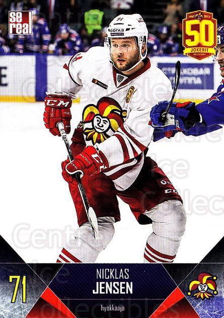 2017-18 Finnish Jokerit Helsinki Sereal #B27 Nicklas Jensen<br/>5 In Stock - $2.00 each - <a href=https://centericecollectibles.foxycart.com/cart?name=2017-18%20Finnish%20Jokerit%20Helsinki%20Sereal%20%23B27%20Nicklas%20Jensen...&quantity_max=5&price=$2.00&code=713686 class=foxycart> Buy it now! </a>