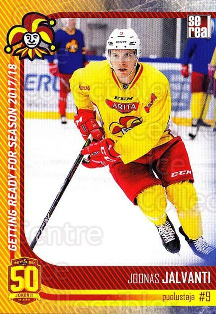 2017-18 Finnish Jokerit Helsinki Sereal #G07 Joonas Jalvanti<br/>8 In Stock - $2.00 each - <a href=https://centericecollectibles.foxycart.com/cart?name=2017-18%20Finnish%20Jokerit%20Helsinki%20Sereal%20%23G07%20Joonas%20Jalvanti...&quantity_max=8&price=$2.00&code=713699 class=foxycart> Buy it now! </a>