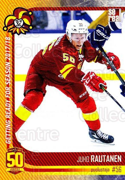 2017-18 Finnish Jokerit Helsinki Sereal #G11 Juho Rautanen<br/>6 In Stock - $2.00 each - <a href=https://centericecollectibles.foxycart.com/cart?name=2017-18%20Finnish%20Jokerit%20Helsinki%20Sereal%20%23G11%20Juho%20Rautanen...&quantity_max=6&price=$2.00&code=713703 class=foxycart> Buy it now! </a>