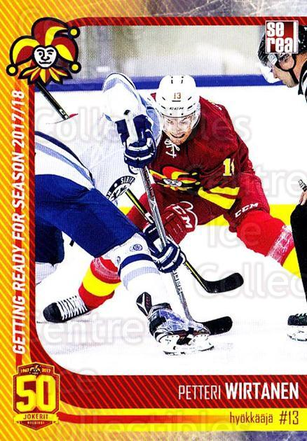 2017-18 Finnish Jokerit Helsinki Sereal #G15 Petteri Wirtanen<br/>8 In Stock - $2.00 each - <a href=https://centericecollectibles.foxycart.com/cart?name=2017-18%20Finnish%20Jokerit%20Helsinki%20Sereal%20%23G15%20Petteri%20Wirtane...&quantity_max=8&price=$2.00&code=713707 class=foxycart> Buy it now! </a>