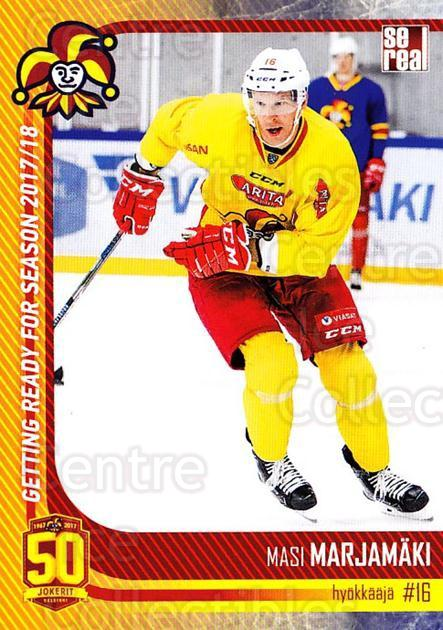 2017-18 Finnish Jokerit Helsinki Sereal #G17 Masi Marjamaki<br/>6 In Stock - $2.00 each - <a href=https://centericecollectibles.foxycart.com/cart?name=2017-18%20Finnish%20Jokerit%20Helsinki%20Sereal%20%23G17%20Masi%20Marjamaki...&quantity_max=6&price=$2.00&code=713709 class=foxycart> Buy it now! </a>