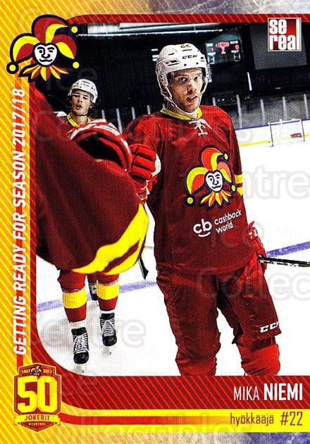 2017-18 Finnish Jokerit Helsinki Sereal #G20 Mika Niemi<br/>6 In Stock - $2.00 each - <a href=https://centericecollectibles.foxycart.com/cart?name=2017-18%20Finnish%20Jokerit%20Helsinki%20Sereal%20%23G20%20Mika%20Niemi...&quantity_max=6&price=$2.00&code=713712 class=foxycart> Buy it now! </a>