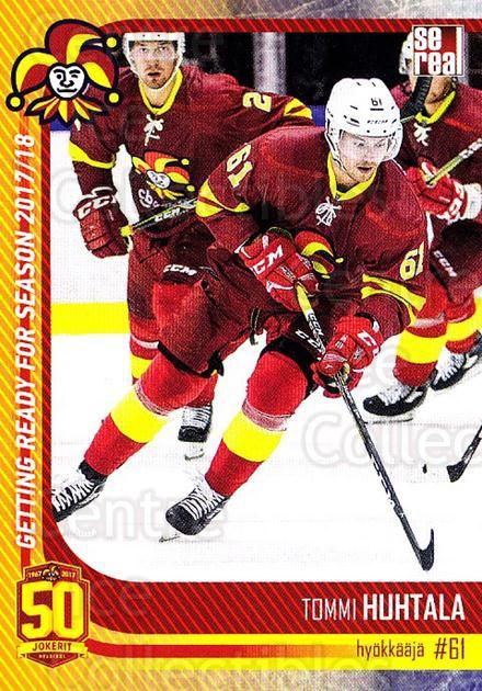 2017-18 Finnish Jokerit Helsinki Sereal #G26 Tommi Huhtala<br/>3 In Stock - $2.00 each - <a href=https://centericecollectibles.foxycart.com/cart?name=2017-18%20Finnish%20Jokerit%20Helsinki%20Sereal%20%23G26%20Tommi%20Huhtala...&quantity_max=3&price=$2.00&code=713718 class=foxycart> Buy it now! </a>