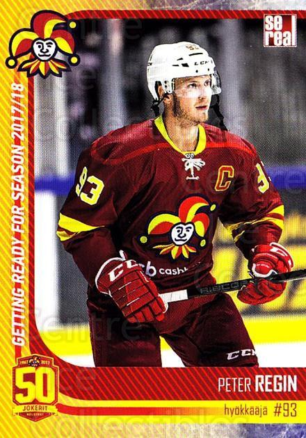 2017-18 Finnish Jokerit Helsinki Sereal #G28 Peter Regin<br/>6 In Stock - $2.00 each - <a href=https://centericecollectibles.foxycart.com/cart?name=2017-18%20Finnish%20Jokerit%20Helsinki%20Sereal%20%23G28%20Peter%20Regin...&quantity_max=6&price=$2.00&code=713720 class=foxycart> Buy it now! </a>