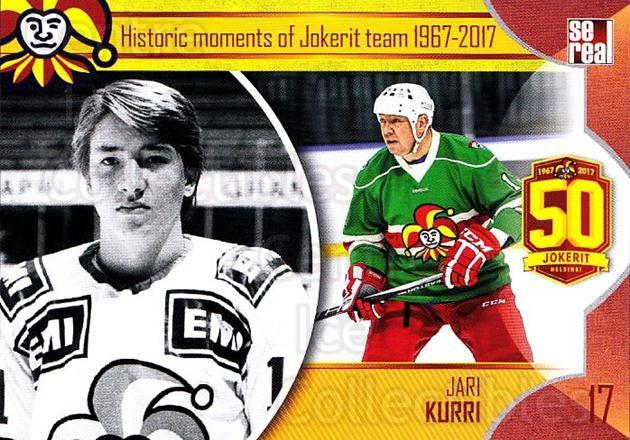 2017-18 Finnish Jokerit Helsinki Sereal #H05 Jari Kurri<br/>4 In Stock - $2.00 each - <a href=https://centericecollectibles.foxycart.com/cart?name=2017-18%20Finnish%20Jokerit%20Helsinki%20Sereal%20%23H05%20Jari%20Kurri...&quantity_max=4&price=$2.00&code=713725 class=foxycart> Buy it now! </a>