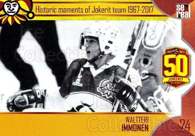 2017-18 Finnish Jokerit Helsinki Sereal #H07 Waltteri Immonen<br/>8 In Stock - $2.00 each - <a href=https://centericecollectibles.foxycart.com/cart?name=2017-18%20Finnish%20Jokerit%20Helsinki%20Sereal%20%23H07%20Waltteri%20Immone...&quantity_max=8&price=$2.00&code=713727 class=foxycart> Buy it now! </a>