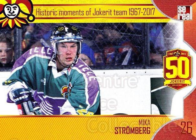 2017-18 Finnish Jokerit Helsinki Sereal #H10 Mika Stromberg<br/>8 In Stock - $2.00 each - <a href=https://centericecollectibles.foxycart.com/cart?name=2017-18%20Finnish%20Jokerit%20Helsinki%20Sereal%20%23H10%20Mika%20Stromberg...&quantity_max=8&price=$2.00&code=713730 class=foxycart> Buy it now! </a>