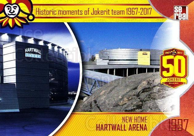 2017-18 Finnish Jokerit Helsinki Sereal #H13 Jokerit Helsinki, Hartwall Arena<br/>7 In Stock - $2.00 each - <a href=https://centericecollectibles.foxycart.com/cart?name=2017-18%20Finnish%20Jokerit%20Helsinki%20Sereal%20%23H13%20Jokerit%20Helsink...&quantity_max=7&price=$2.00&code=713733 class=foxycart> Buy it now! </a>