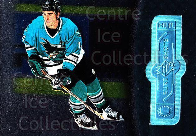 1998-99 SPx Finite #130 Patrick Marleau<br/>3 In Stock - $3.00 each - <a href=https://centericecollectibles.foxycart.com/cart?name=1998-99%20SPx%20Finite%20%23130%20Patrick%20Marleau...&quantity_max=3&price=$3.00&code=71375 class=foxycart> Buy it now! </a>