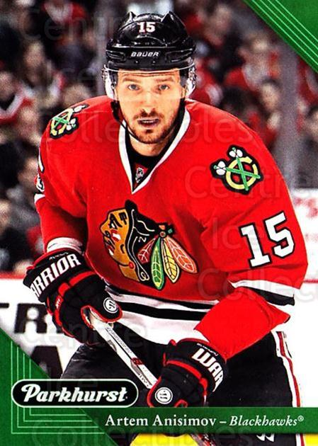 2017-18 Parkhurst #52 Artem Anisimov<br/>5 In Stock - $1.00 each - <a href=https://centericecollectibles.foxycart.com/cart?name=2017-18%20Parkhurst%20%2352%20Artem%20Anisimov...&quantity_max=5&price=$1.00&code=713806 class=foxycart> Buy it now! </a>