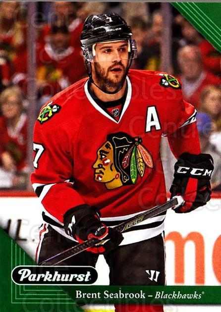 2017-18 Parkhurst #53 Brent Seabrook<br/>5 In Stock - $1.00 each - <a href=https://centericecollectibles.foxycart.com/cart?name=2017-18%20Parkhurst%20%2353%20Brent%20Seabrook...&quantity_max=5&price=$1.00&code=713807 class=foxycart> Buy it now! </a>