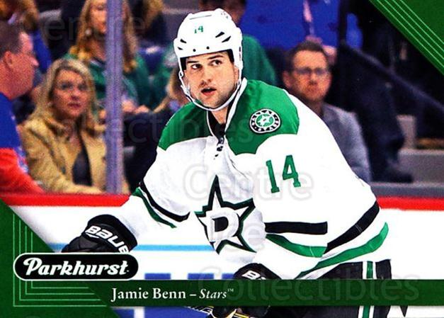 2017-18 Parkhurst #75 Jamie Benn<br/>4 In Stock - $1.00 each - <a href=https://centericecollectibles.foxycart.com/cart?name=2017-18%20Parkhurst%20%2375%20Jamie%20Benn...&quantity_max=4&price=$1.00&code=713829 class=foxycart> Buy it now! </a>