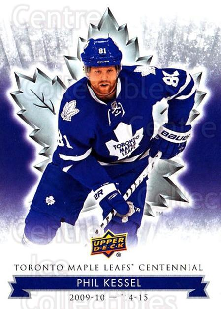 2017-18 Toronto Maple Leafs Centennial #39 Phil Kessel<br/>7 In Stock - $2.00 each - <a href=https://centericecollectibles.foxycart.com/cart?name=2017-18%20Toronto%20Maple%20Leafs%20Centennial%20%2339%20Phil%20Kessel...&quantity_max=7&price=$2.00&code=714093 class=foxycart> Buy it now! </a>