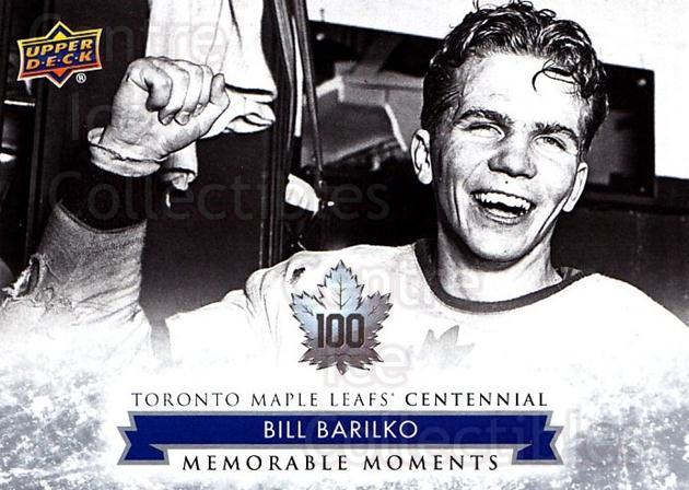 2017-18 Toronto Maple Leafs Centennial #174 Bill Barilko<br/>4 In Stock - $2.00 each - <a href=https://centericecollectibles.foxycart.com/cart?name=2017-18%20Toronto%20Maple%20Leafs%20Centennial%20%23174%20Bill%20Barilko...&quantity_max=4&price=$2.00&code=714228 class=foxycart> Buy it now! </a>