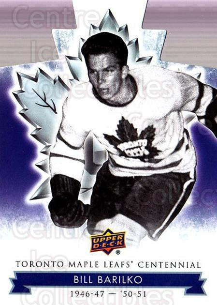 2017-18 Toronto Maple Leafs Centennial Die Cut #23 Bill Barilko<br/>3 In Stock - $3.00 each - <a href=https://centericecollectibles.foxycart.com/cart?name=2017-18%20Toronto%20Maple%20Leafs%20Centennial%20Die%20Cut%20%2323%20Bill%20Barilko...&quantity_max=3&price=$3.00&code=714277 class=foxycart> Buy it now! </a>