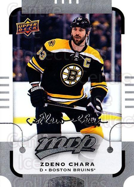 2015-16 Upper Deck Mvp Silver Script #25 Zdeno Chara<br/>1 In Stock - $2.00 each - <a href=https://centericecollectibles.foxycart.com/cart?name=2015-16%20Upper%20Deck%20Mvp%20Silver%20Script%20%2325%20Zdeno%20Chara...&quantity_max=1&price=$2.00&code=714382 class=foxycart> Buy it now! </a>