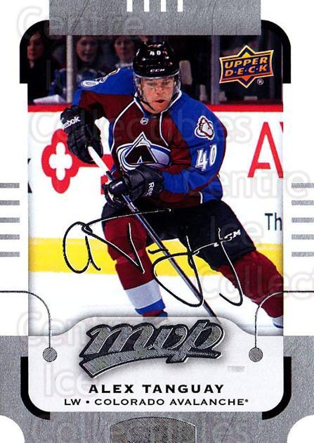 2015-16 Upper Deck Mvp Silver Script #64 Alex Tanguay<br/>1 In Stock - $2.00 each - <a href=https://centericecollectibles.foxycart.com/cart?name=2015-16%20Upper%20Deck%20Mvp%20Silver%20Script%20%2364%20Alex%20Tanguay...&quantity_max=1&price=$2.00&code=714421 class=foxycart> Buy it now! </a>