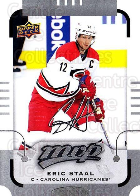2015-16 Upper Deck Mvp Silver Script #106 Eric Staal<br/>1 In Stock - $3.00 each - <a href=https://centericecollectibles.foxycart.com/cart?name=2015-16%20Upper%20Deck%20Mvp%20Silver%20Script%20%23106%20Eric%20Staal...&quantity_max=1&price=$3.00&code=714463 class=foxycart> Buy it now! </a>