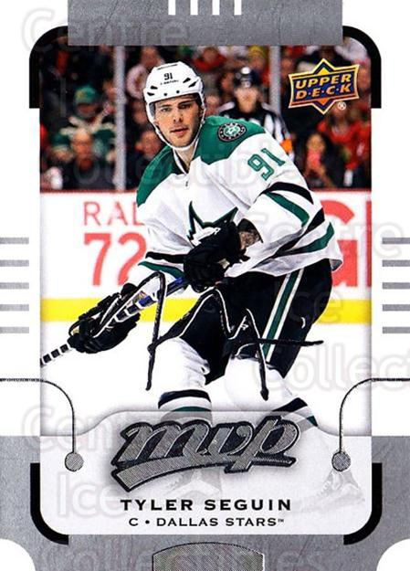 2015-16 Upper Deck Mvp Silver Script #110 Tyler Seguin<br/>1 In Stock - $3.00 each - <a href=https://centericecollectibles.foxycart.com/cart?name=2015-16%20Upper%20Deck%20Mvp%20Silver%20Script%20%23110%20Tyler%20Seguin...&quantity_max=1&price=$3.00&code=714467 class=foxycart> Buy it now! </a>