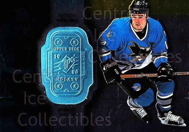 1998-99 SPx Finite #73 Patrick Marleau<br/>4 In Stock - $1.00 each - <a href=https://centericecollectibles.foxycart.com/cart?name=1998-99%20SPx%20Finite%20%2373%20Patrick%20Marleau...&quantity_max=4&price=$1.00&code=71452 class=foxycart> Buy it now! </a>