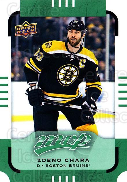 2015-16 Upper Deck Mvp Green #25 Zdeno Chara<br/>4 In Stock - $2.00 each - <a href=https://centericecollectibles.foxycart.com/cart?name=2015-16%20Upper%20Deck%20Mvp%20Green%20%2325%20Zdeno%20Chara...&quantity_max=4&price=$2.00&code=714664 class=foxycart> Buy it now! </a>