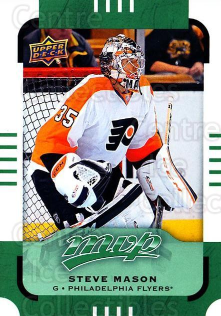 2015-16 Upper Deck Mvp Green #65 Steve Mason<br/>4 In Stock - $2.00 each - <a href=https://centericecollectibles.foxycart.com/cart?name=2015-16%20Upper%20Deck%20Mvp%20Green%20%2365%20Steve%20Mason...&quantity_max=4&price=$2.00&code=714704 class=foxycart> Buy it now! </a>