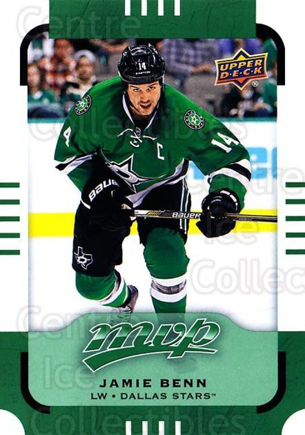 2015-16 Upper Deck Mvp Green #99 Jamie Benn<br/>3 In Stock - $2.00 each - <a href=https://centericecollectibles.foxycart.com/cart?name=2015-16%20Upper%20Deck%20Mvp%20Green%20%2399%20Jamie%20Benn...&quantity_max=3&price=$2.00&code=714738 class=foxycart> Buy it now! </a>