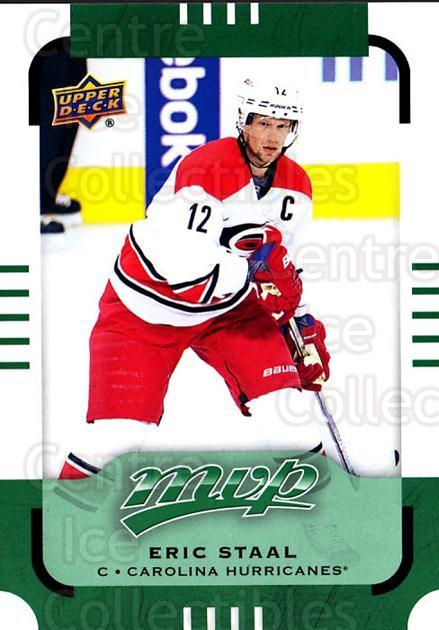 2015-16 Upper Deck Mvp Green #106 Eric Staal<br/>1 In Stock - $3.00 each - <a href=https://centericecollectibles.foxycart.com/cart?name=2015-16%20Upper%20Deck%20Mvp%20Green%20%23106%20Eric%20Staal...&quantity_max=1&price=$3.00&code=714745 class=foxycart> Buy it now! </a>