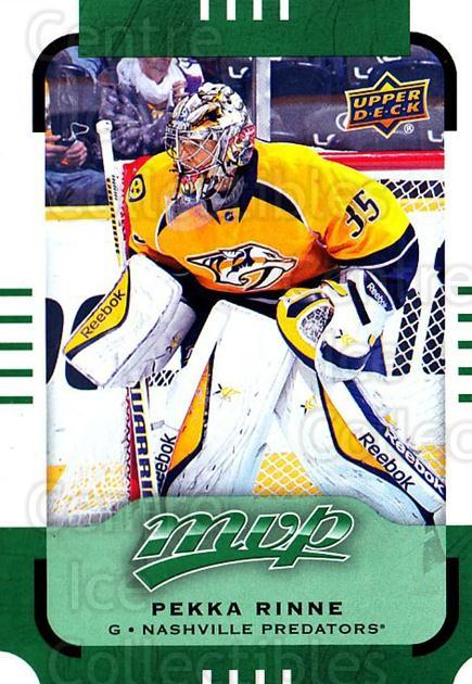 2015-16 Upper Deck Mvp Green #135 Pekka Rinne<br/>1 In Stock - $3.00 each - <a href=https://centericecollectibles.foxycart.com/cart?name=2015-16%20Upper%20Deck%20Mvp%20Green%20%23135%20Pekka%20Rinne...&quantity_max=1&price=$3.00&code=714774 class=foxycart> Buy it now! </a>