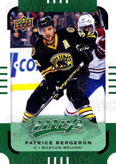 2015-16 Upper Deck Mvp Green #150 Patrice Bergeron<br/>1 In Stock - $3.00 each - <a href=https://centericecollectibles.foxycart.com/cart?name=2015-16%20Upper%20Deck%20Mvp%20Green%20%23150%20Patrice%20Bergero...&quantity_max=1&price=$3.00&code=714789 class=foxycart> Buy it now! </a>