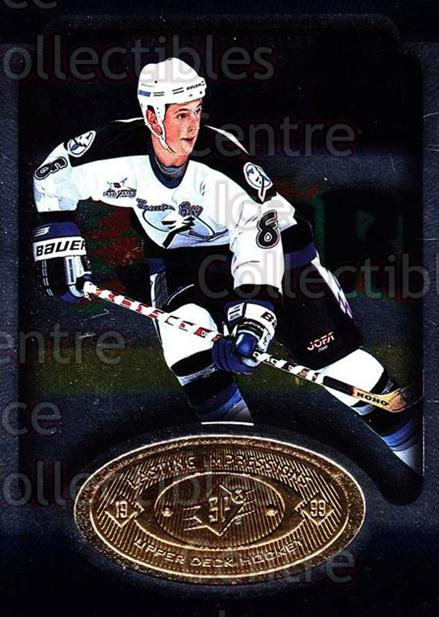 1998-99 SPx Top Prospects Lasting Impressions #1 Vincent Lecavalier<br/>6 In Stock - $3.00 each - <a href=https://centericecollectibles.foxycart.com/cart?name=1998-99%20SPx%20Top%20Prospects%20Lasting%20Impressions%20%231%20Vincent%20Lecaval...&price=$3.00&code=71480 class=foxycart> Buy it now! </a>