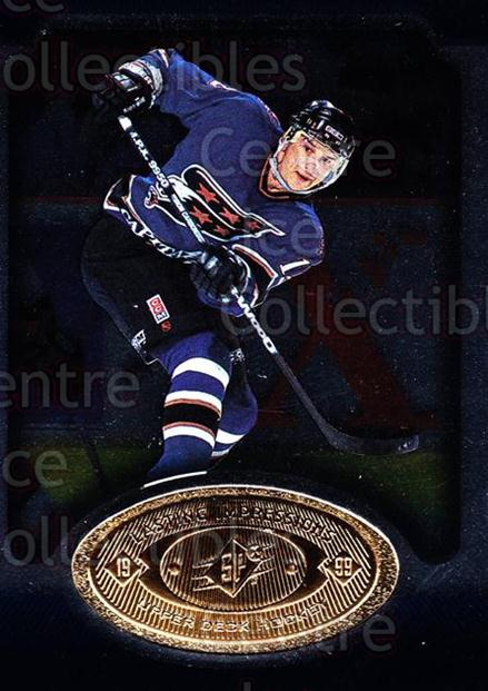 1998-99 SPx Top Prospects Lasting Impressions #15 Peter Bondra<br/>7 In Stock - $3.00 each - <a href=https://centericecollectibles.foxycart.com/cart?name=1998-99%20SPx%20Top%20Prospects%20Lasting%20Impressions%20%2315%20Peter%20Bondra...&price=$3.00&code=71483 class=foxycart> Buy it now! </a>