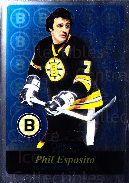 2015-16 O-Pee-Chee Platinum Retro #2 Phil Esposito<br/>3 In Stock - $3.00 each - <a href=https://centericecollectibles.foxycart.com/cart?name=2015-16%20O-Pee-Chee%20Platinum%20Retro%20%232%20Phil%20Esposito...&quantity_max=3&price=$3.00&code=714858 class=foxycart> Buy it now! </a>
