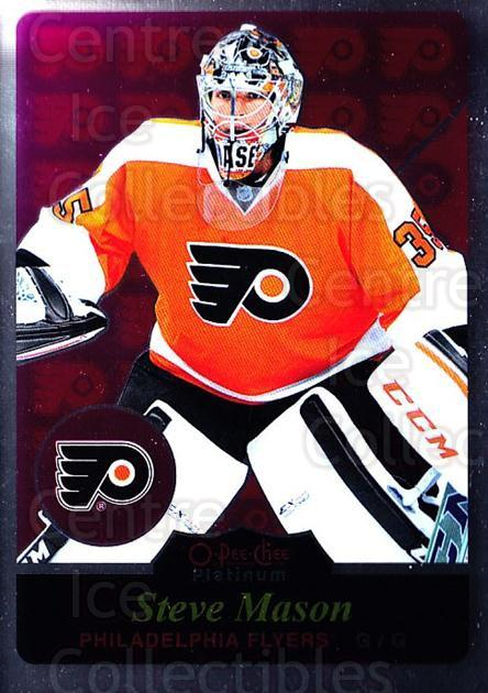 2015-16 O-Pee-Chee Platinum Retro #27 Steve Mason<br/>2 In Stock - $3.00 each - <a href=https://centericecollectibles.foxycart.com/cart?name=2015-16%20O-Pee-Chee%20Platinum%20Retro%20%2327%20Steve%20Mason...&quantity_max=2&price=$3.00&code=714884 class=foxycart> Buy it now! </a>