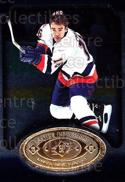 1998-99 SPx Top Prospects Lasting Impressions #29 Zigmund Palffy<br/>13 In Stock - $3.00 each - <a href=https://centericecollectibles.foxycart.com/cart?name=1998-99%20SPx%20Top%20Prospects%20Lasting%20Impressions%20%2329%20Zigmund%20Palffy...&price=$3.00&code=71489 class=foxycart> Buy it now! </a>