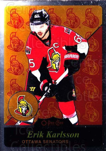 2015-16 O-Pee-Chee Platinum Retro #48 Erik Karlsson<br/>2 In Stock - $5.00 each - <a href=https://centericecollectibles.foxycart.com/cart?name=2015-16%20O-Pee-Chee%20Platinum%20Retro%20%2348%20Erik%20Karlsson...&quantity_max=2&price=$5.00&code=714905 class=foxycart> Buy it now! </a>