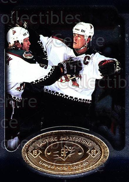1998-99 SPx Top Prospects Lasting Impressions #4 Keith Tkachuk<br/>5 In Stock - $2.00 each - <a href=https://centericecollectibles.foxycart.com/cart?name=1998-99%20SPx%20Top%20Prospects%20Lasting%20Impressions%20%234%20Keith%20Tkachuk...&price=$2.00&code=71492 class=foxycart> Buy it now! </a>