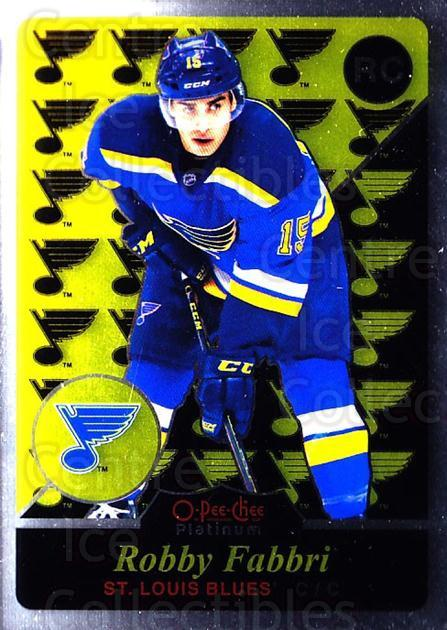 2015-16 O-Pee-Chee Platinum Retro #95 Robby Fabbri<br/>2 In Stock - $5.00 each - <a href=https://centericecollectibles.foxycart.com/cart?name=2015-16%20O-Pee-Chee%20Platinum%20Retro%20%2395%20Robby%20Fabbri...&quantity_max=2&price=$5.00&code=714952 class=foxycart> Buy it now! </a>