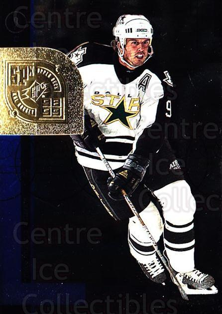 1998-99 SPx Top Prospects #18 Mike Modano<br/>5 In Stock - $1.00 each - <a href=https://centericecollectibles.foxycart.com/cart?name=1998-99%20SPx%20Top%20Prospects%20%2318%20Mike%20Modano...&quantity_max=5&price=$1.00&code=71504 class=foxycart> Buy it now! </a>