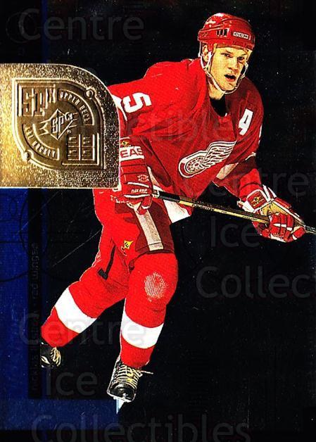 1998-99 SPx Top Prospects #25 Nicklas Lidstrom<br/>4 In Stock - $1.00 each - <a href=https://centericecollectibles.foxycart.com/cart?name=1998-99%20SPx%20Top%20Prospects%20%2325%20Nicklas%20Lidstro...&quantity_max=4&price=$1.00&code=71508 class=foxycart> Buy it now! </a>