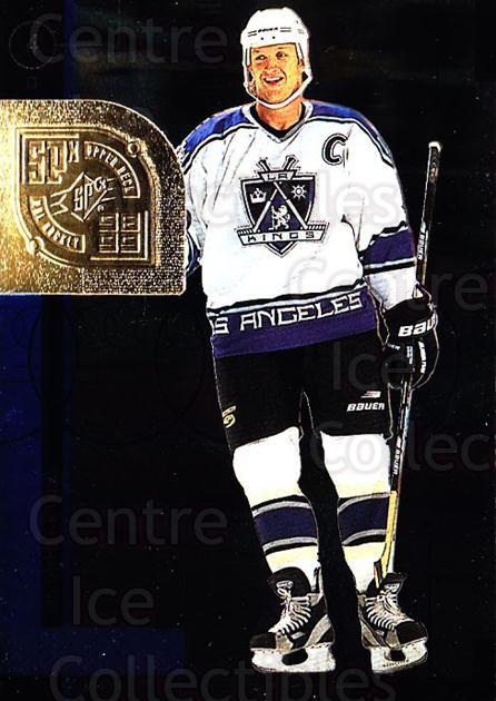 1998-99 SPx Top Prospects #30 Rob Blake<br/>5 In Stock - $1.00 each - <a href=https://centericecollectibles.foxycart.com/cart?name=1998-99%20SPx%20Top%20Prospects%20%2330%20Rob%20Blake...&quantity_max=5&price=$1.00&code=71514 class=foxycart> Buy it now! </a>