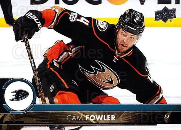 2017-18 Upper Deck #3 Cam Fowler<br/>12 In Stock - $1.00 each - <a href=https://centericecollectibles.foxycart.com/cart?name=2017-18%20Upper%20Deck%20%233%20Cam%20Fowler...&price=$1.00&code=715197 class=foxycart> Buy it now! </a>