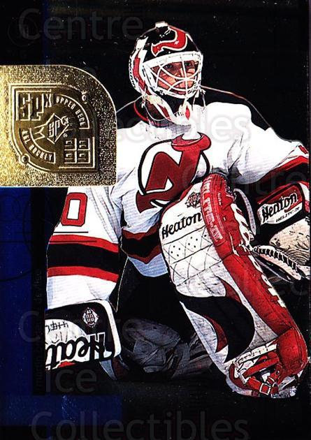 1998-99 SPx Top Prospects #35 Martin Brodeur<br/>2 In Stock - $2.00 each - <a href=https://centericecollectibles.foxycart.com/cart?name=1998-99%20SPx%20Top%20Prospects%20%2335%20Martin%20Brodeur...&price=$2.00&code=71519 class=foxycart> Buy it now! </a>