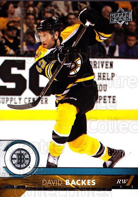 2017-18 Upper Deck #15 David Backes<br/>12 In Stock - $1.00 each - <a href=https://centericecollectibles.foxycart.com/cart?name=2017-18%20Upper%20Deck%20%2315%20David%20Backes...&quantity_max=12&price=$1.00&code=715209 class=foxycart> Buy it now! </a>