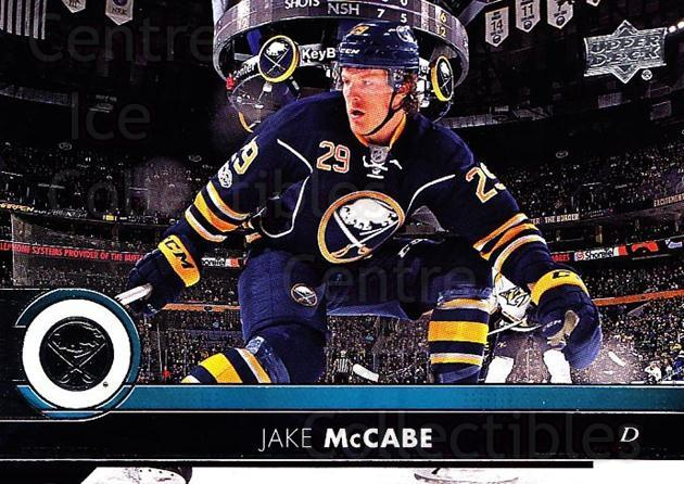 2017-18 Upper Deck #20 Jake McCabe<br/>12 In Stock - $1.00 each - <a href=https://centericecollectibles.foxycart.com/cart?name=2017-18%20Upper%20Deck%20%2320%20Jake%20McCabe...&quantity_max=12&price=$1.00&code=715214 class=foxycart> Buy it now! </a>