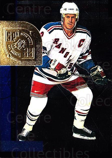 1998-99 SPx Top Prospects #39 Brian Leetch<br/>5 In Stock - $1.00 each - <a href=https://centericecollectibles.foxycart.com/cart?name=1998-99%20SPx%20Top%20Prospects%20%2339%20Brian%20Leetch...&quantity_max=5&price=$1.00&code=71522 class=foxycart> Buy it now! </a>