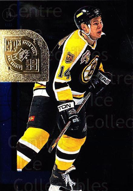 1998-99 SPx Top Prospects #4 Sergei Samsonov<br/>5 In Stock - $1.00 each - <a href=https://centericecollectibles.foxycart.com/cart?name=1998-99%20SPx%20Top%20Prospects%20%234%20Sergei%20Samsonov...&quantity_max=5&price=$1.00&code=71523 class=foxycart> Buy it now! </a>